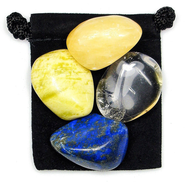 Spiritual Journey Tumbled Crystal Healing Set