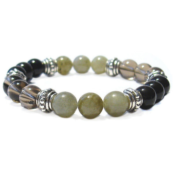 Manifestation (Law of Attraction) 8mm Crystal Intention Bracelet