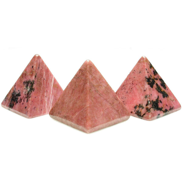 Rhodonite Crystal Pyramid
