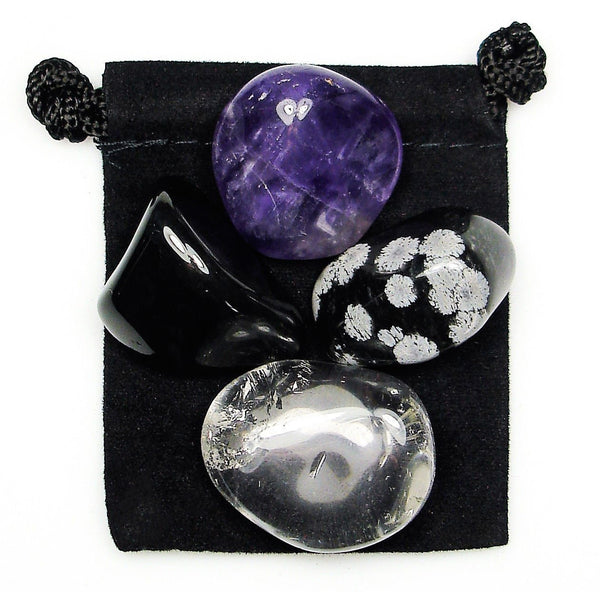 Finding Your Center Tumbled Crystal Healing Set