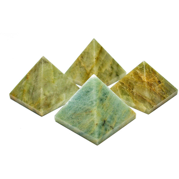 Aquamarine Crystal Pyramid