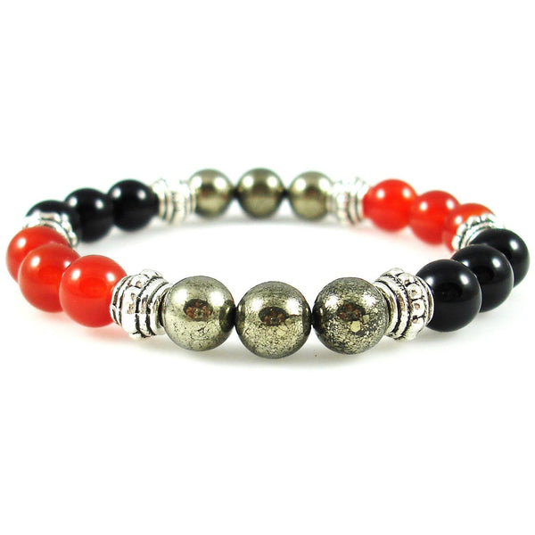 Blood Disorders 8mm Crystal Intention Bracelet