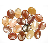Jasper (Natural Color) Crystal Worry Stone