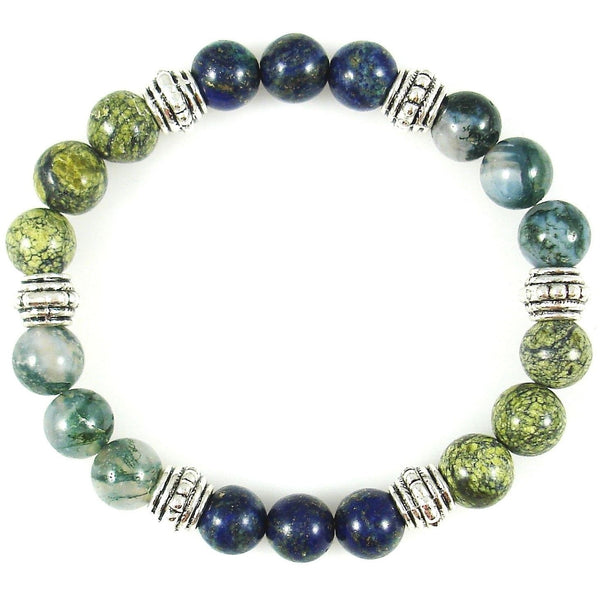 Diabetes Regulator 8mm Crystal Intention Bracelet