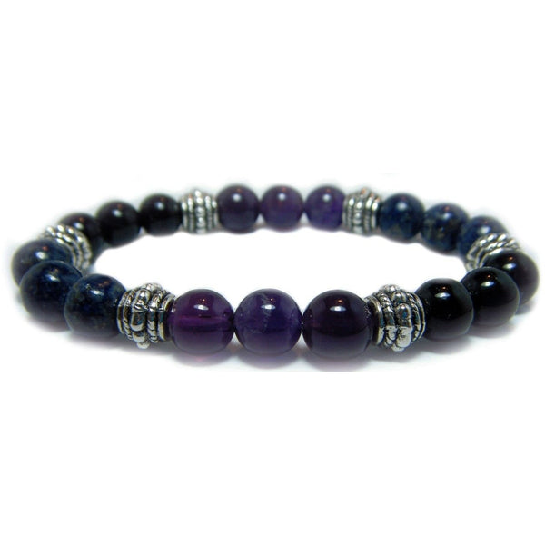 Psychic Attack Blocker 8mm Crystal Intention Bracelet
