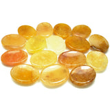 Topaz Crystal Worry Stone