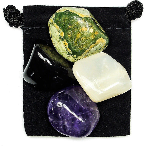 Higher Guidance Tumbled Crystal Healing Set