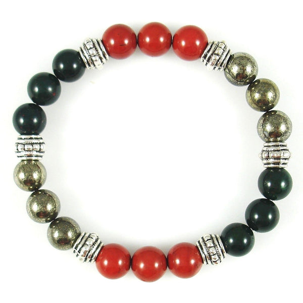 Chronic Fatigue Syndrome 8mm Crystal Intention Bracelet