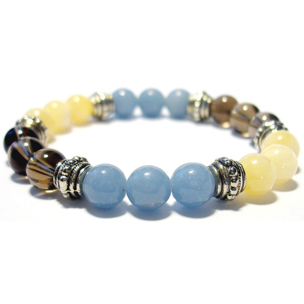 Concentration Aid 8mm Crystal Intention Bracelet