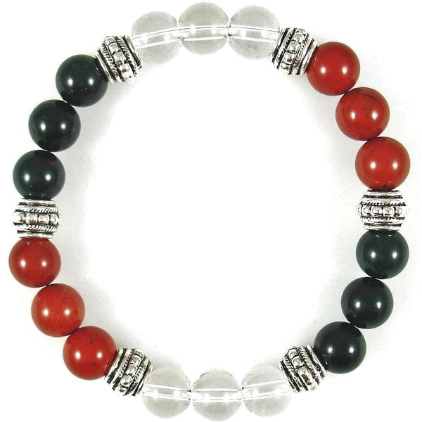 Acid Reflux (GERD) Relief 8mm Crystal Intention Bracelet