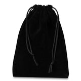 Pouch - Black Velour