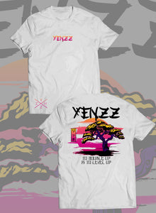 "SUNSET YENZZ T-SHIRT ""VIBRANT"""