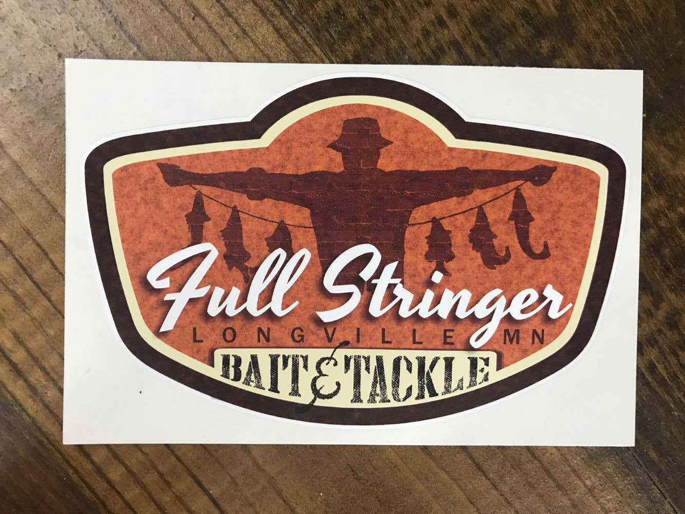 Full Stringer - Decal Sticker