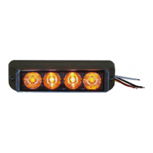 Sho-Me 12.5004 Quad Luminator Light (Choose Amber, Amber/White, White, Red, Blue)