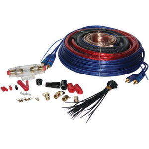 Amplifier Wiring Kit (Choose 8 Gauge, 4 Gauge or 0 Gauge)