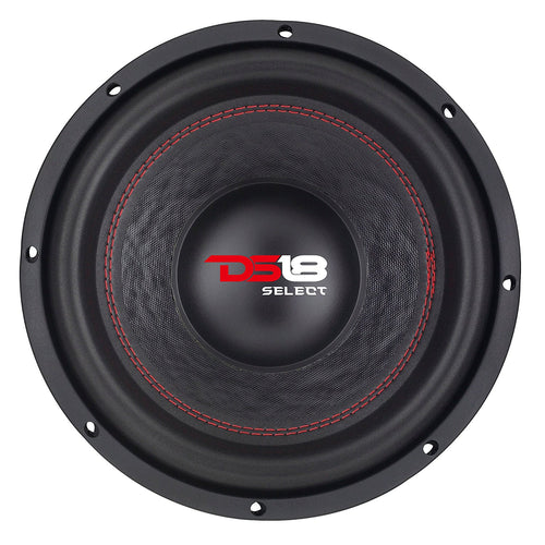 DS18 SLC10S Select Series 10-Inch Single Voice Coil 440 Watts Max Subwoofer, Set of 1