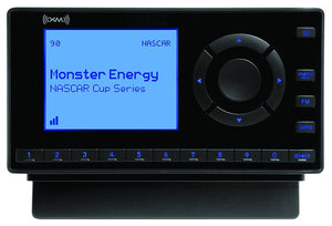 XM- XEZ1V1 Onyx EZ Satellite Radio with Vehicle Kit- Black