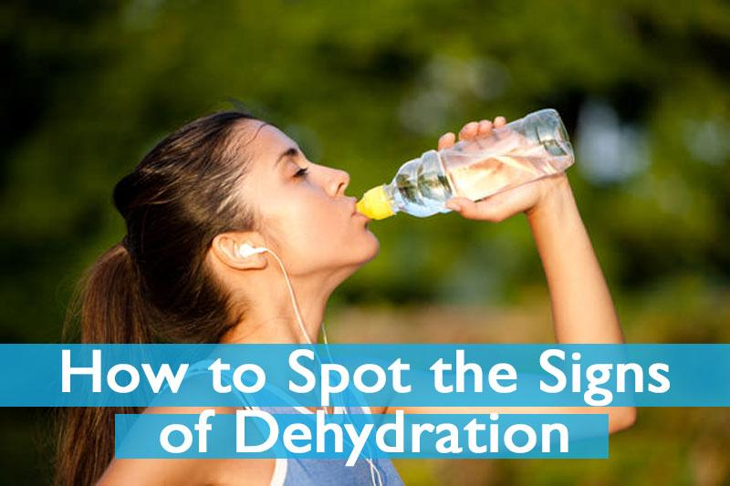 How to Spot the Symptoms of Dehydration When Running