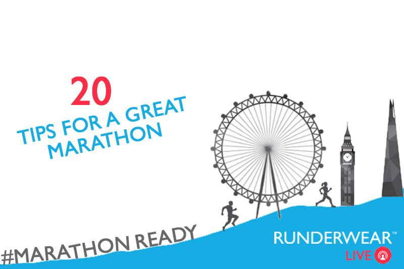20 Top Tips for a Great Marathon
