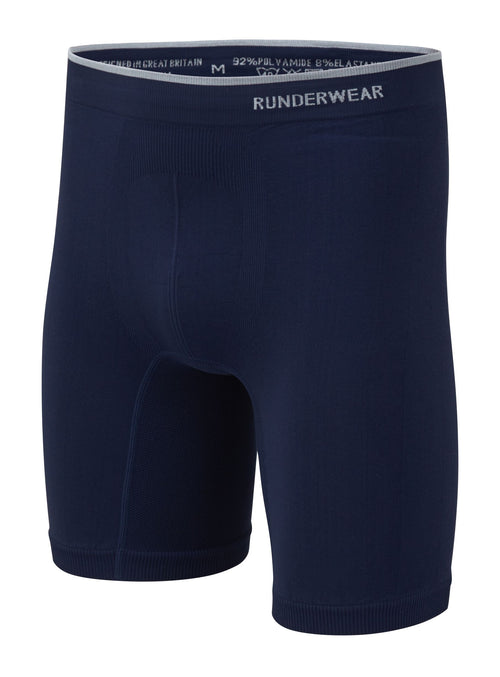 Men's Runderwear Long Boxer - Blue