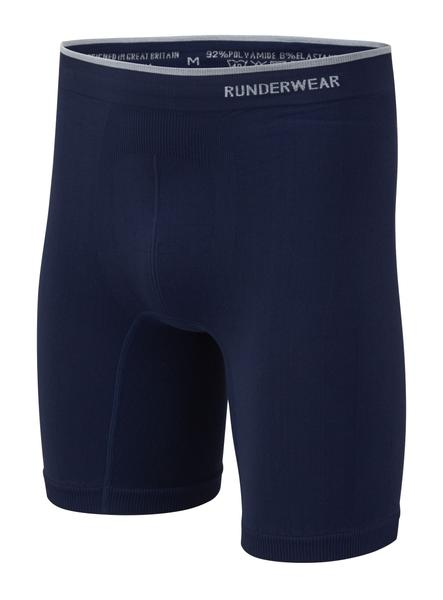 Men's Runderwear Long Boxers 3 Pair Pack - Blue