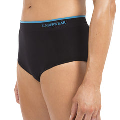 Women's Runderwear Brief - Black - Runderwear  - 5