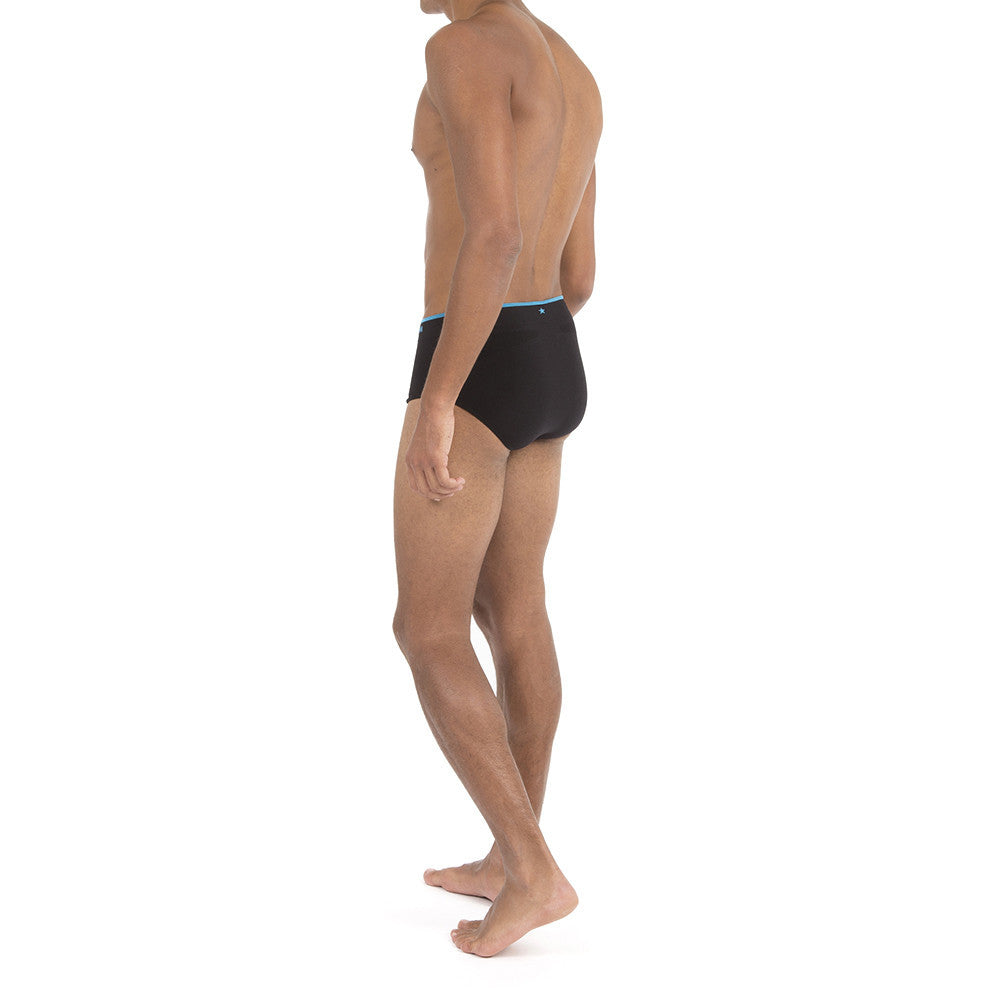Men's Runderwear Running and Multi Sport Brief / Pants Black 4