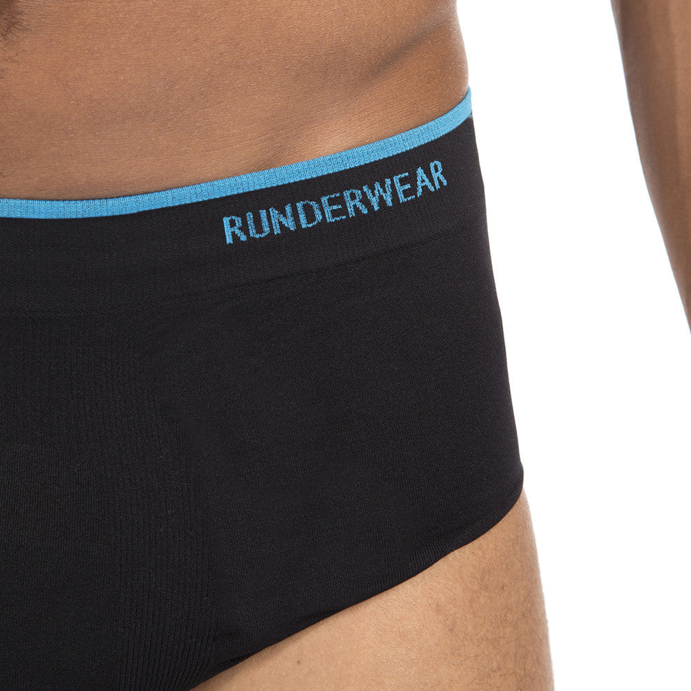 Men's Runderwear Running and Multi Sport Brief / Pants Black 5