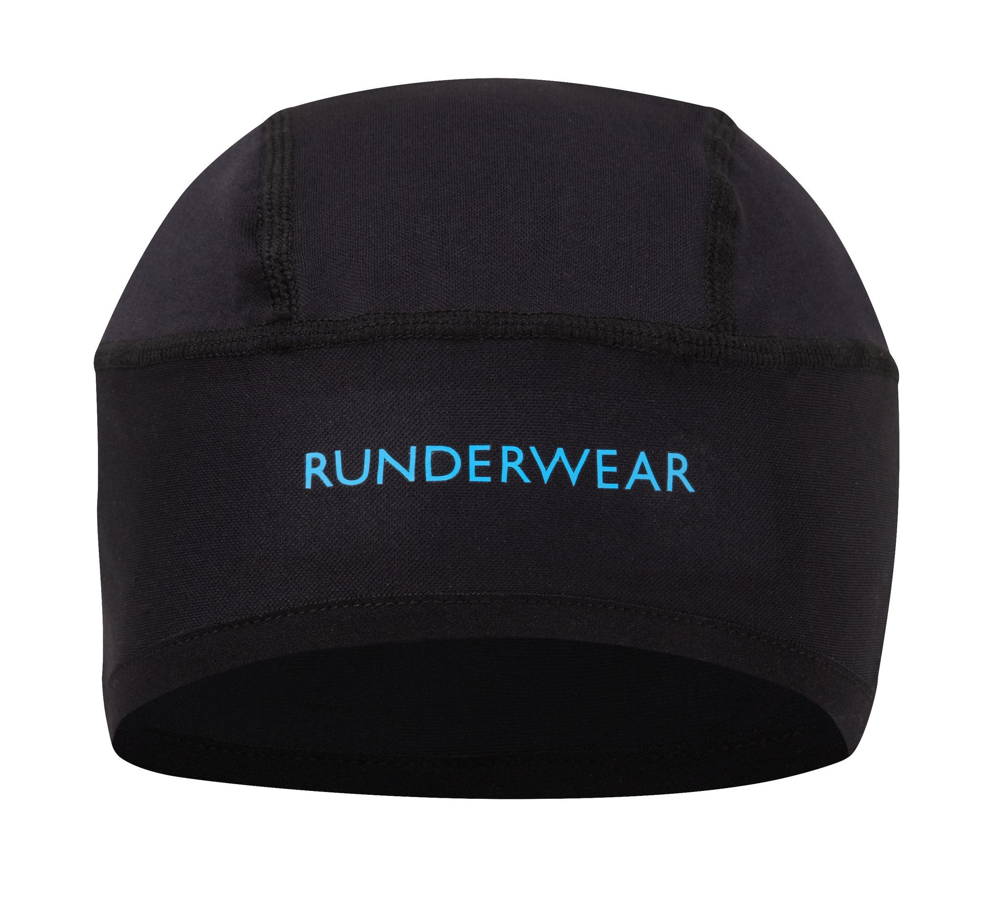 Runderwear Unisex Running and Cycling Beanie Hat with Zipped Pocket