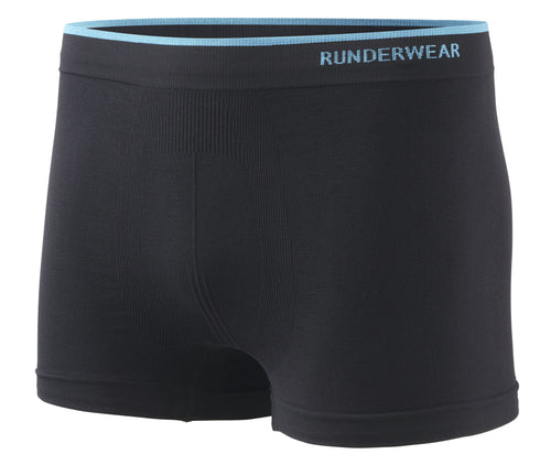 Men's Runderwear Running and Multi Sport Boxer Short Black 1