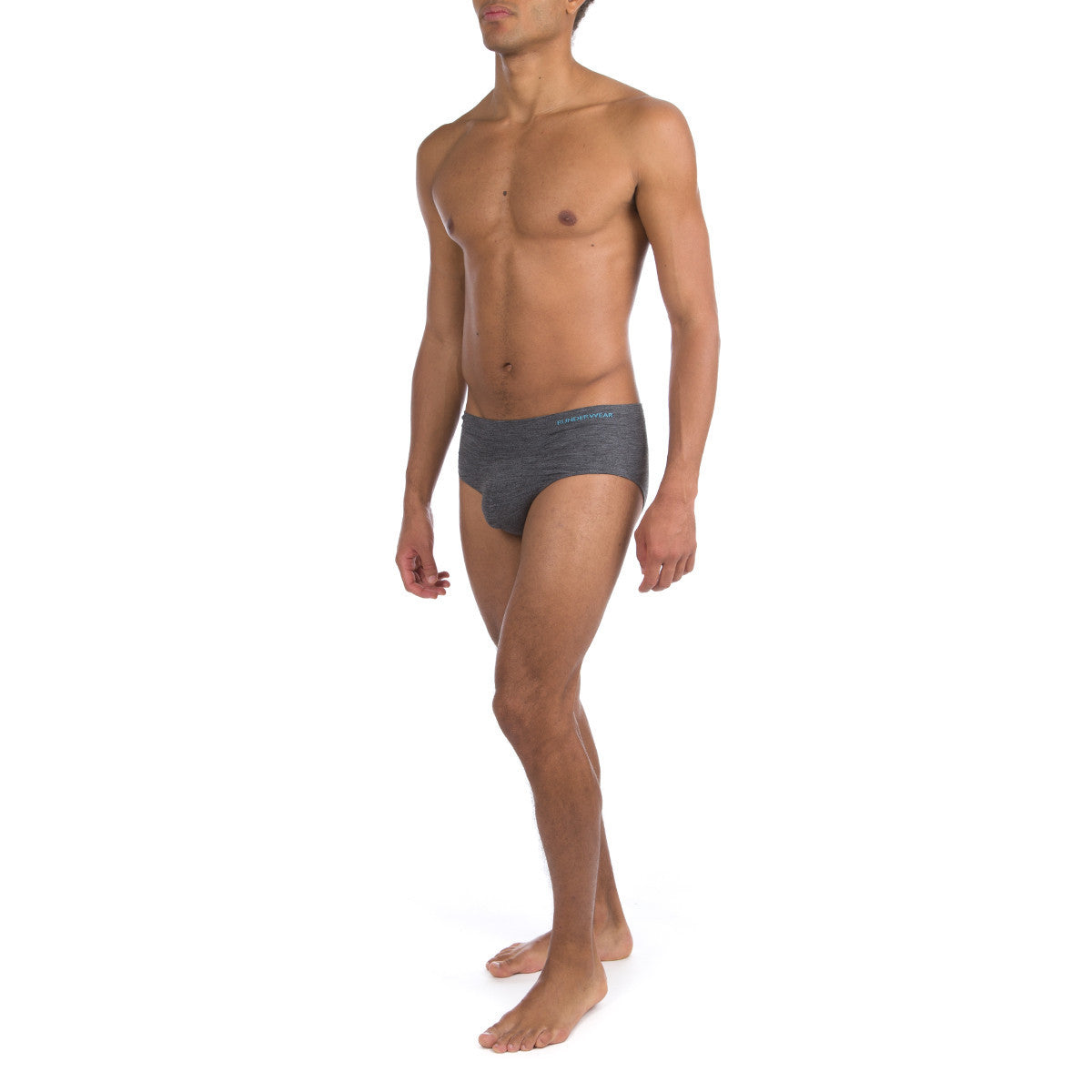 Men's Runderwear Merino Running and Multi Sport Brief / Pants Grey 3
