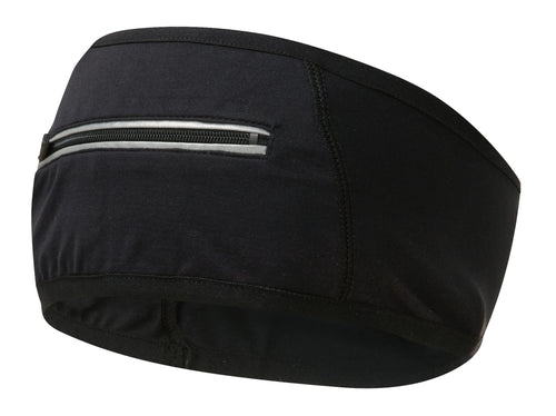 Runderwear Unisex Running and Cycling Headband with Zipped Pocket