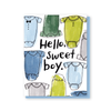 Hello sweet boy card