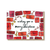 Merry Christmas presents card