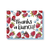 Thanks a bunch! strawberries card