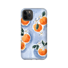 iPhone case in orange blossoms