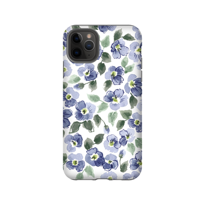 iPhone case in violets