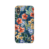 iPhone case in Navy Garden