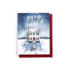 Joy to the World! Christmas house card