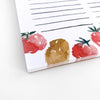 Abundant Veggies grocery notepad