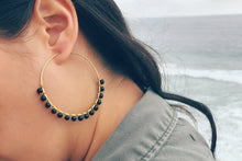 Phat Hoop Earrings (Onyx)