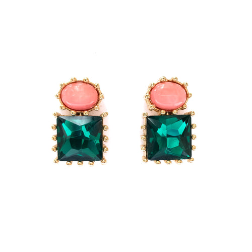 Classic Crystal Stud Earrings