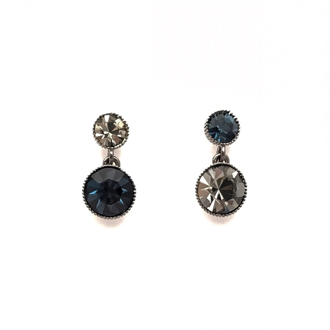 Punk Rock Swarovski Earring