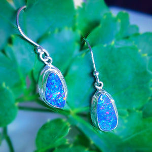 Cosmic Opalescence Dangle Earrings