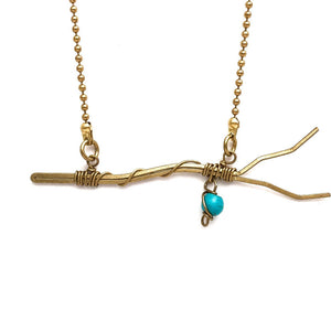 Branch Out Turquoise Necklace