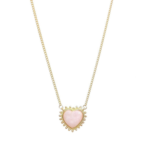 Dreamy Rose Quartz Necklace