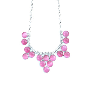 Brilliant Bunch Necklace & Earrings Set