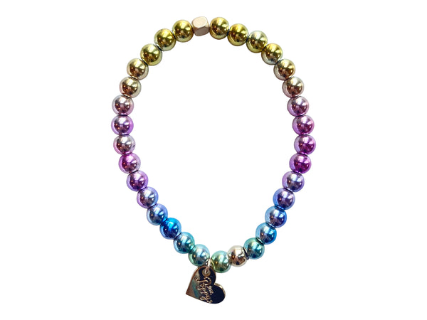 Rainbow Hematite Stretch
