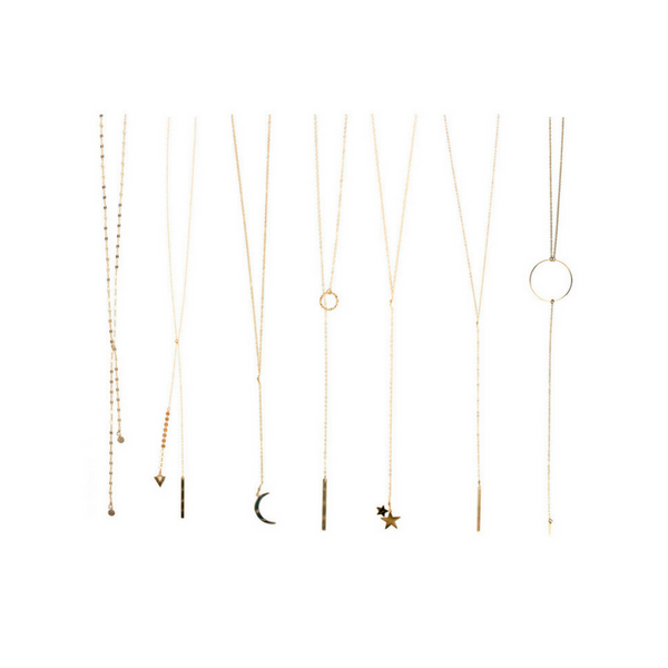 Long Layering Necklaces