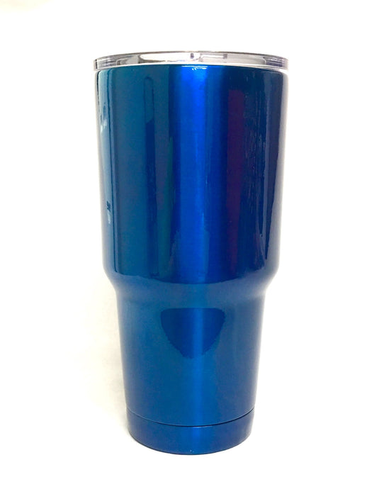 30 oz Promotional Tumbler - Blue Chrome